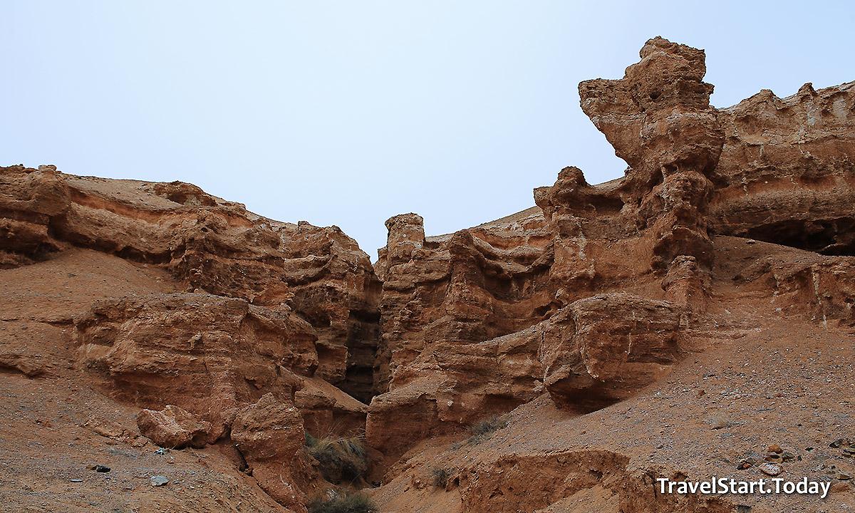 Charyn Canyon – The Kazakhstan Grand Canyon, sedimentary rocks
